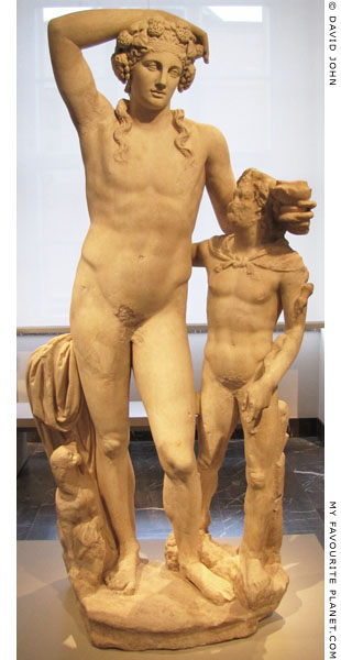 Hellenistic statue of Dionysus and a young Satyr at My Favourite Planet