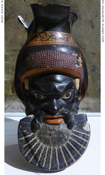 Oinochoe in the form of the head of Silenus or Dionysus at My Favourite Planet