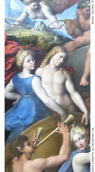 Bacchus and Ariadne by Garofalo at My Favourite Planet