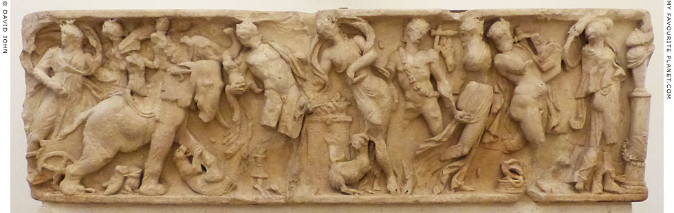 Relief of an Indian triumph, Palazzo Altemps, Rome at My Favourite Planet