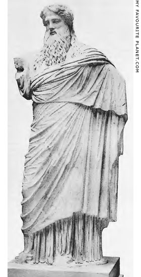 Dionysos-Sardanapalos statue in the British Museum at My Favourite Planet