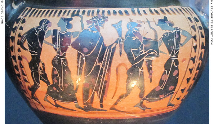 Dionysus with Satyrs and Maenads at My Favourite Planet