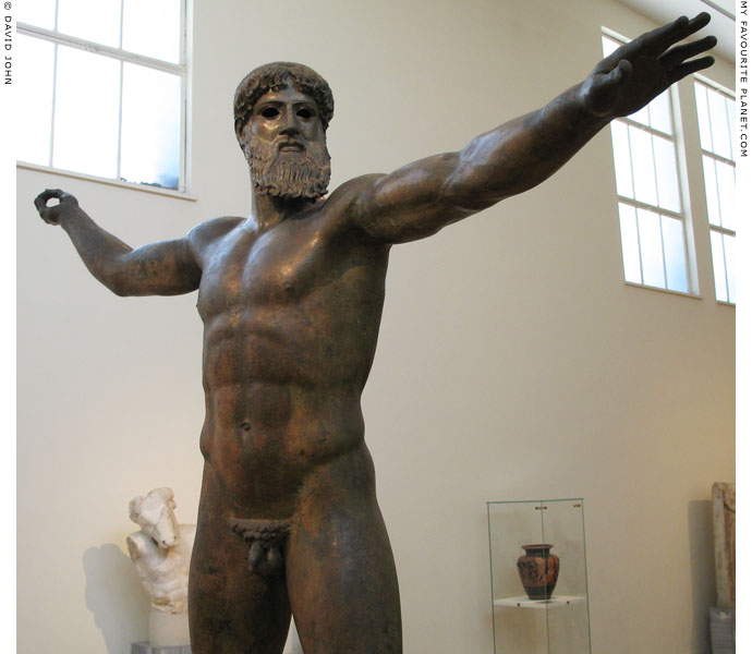 The Artemision Bronze statue of Zeus or Poseidon at My Favourite Planet