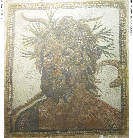 Pan on a mosaic panel, Istanbul Archaeological Museum at My Favourite Planet