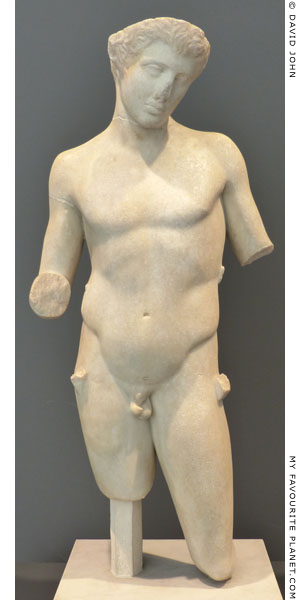 Marble statue of Pan, Palazzo Massimo, Rome at My Favourite Planet