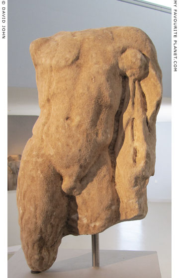 Torso of a statuette of Pan from from Thasos at My Favourite Planet